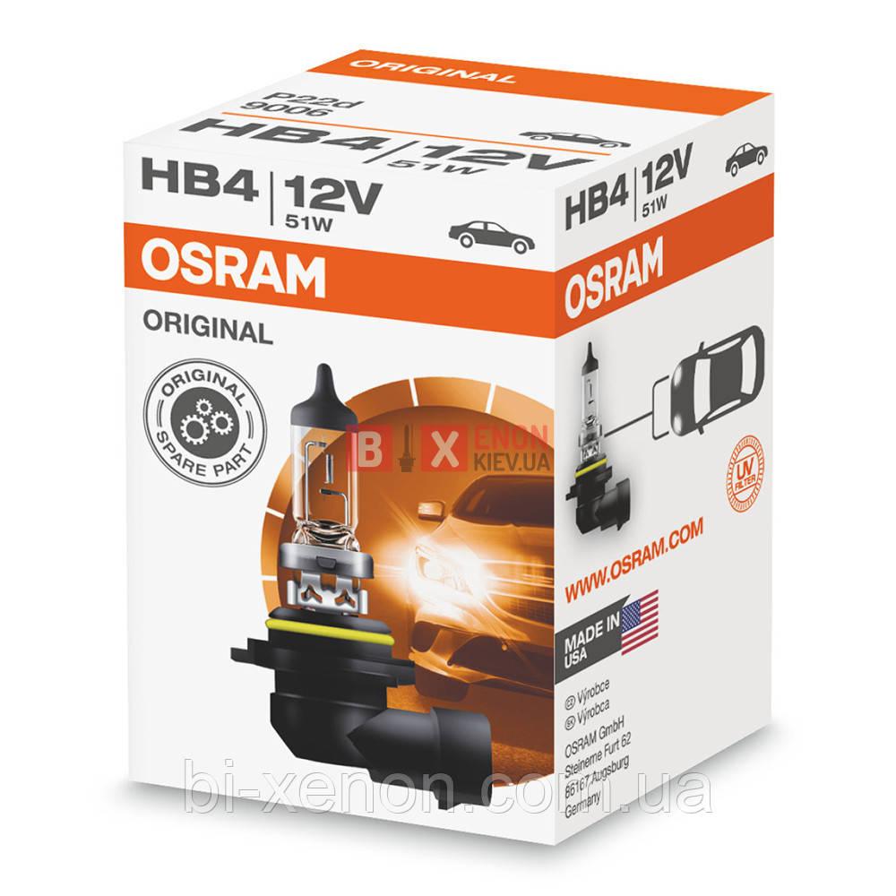 Галогенная лампа OSRAM HB4 Original 9006
