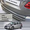 Пластиковая защитная накладка на задний бампер для BMW 2-series F45 Active Tourer 2014>