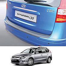 Пластикова захисна накладка на задній бампер для Hyundai i30 FD CW LIFT 2010-2012