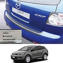 Пластикова захисна накладка на задній бампер для Mazda CX-7 2006-2010