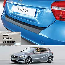 Пластикова захисна накладка на задній бампер для Mercedes-Benz A-Class W176 2013-2015