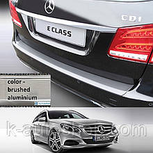 Mercedes-Benz E-Class W212T Touring 2013-2016 пластикова накладка заднього бампера