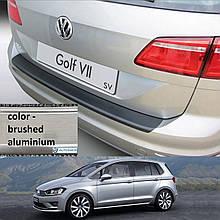 Пластиковая накладка заднего бампера для Volkswagen Golf VII Sportsvan 2014-2020