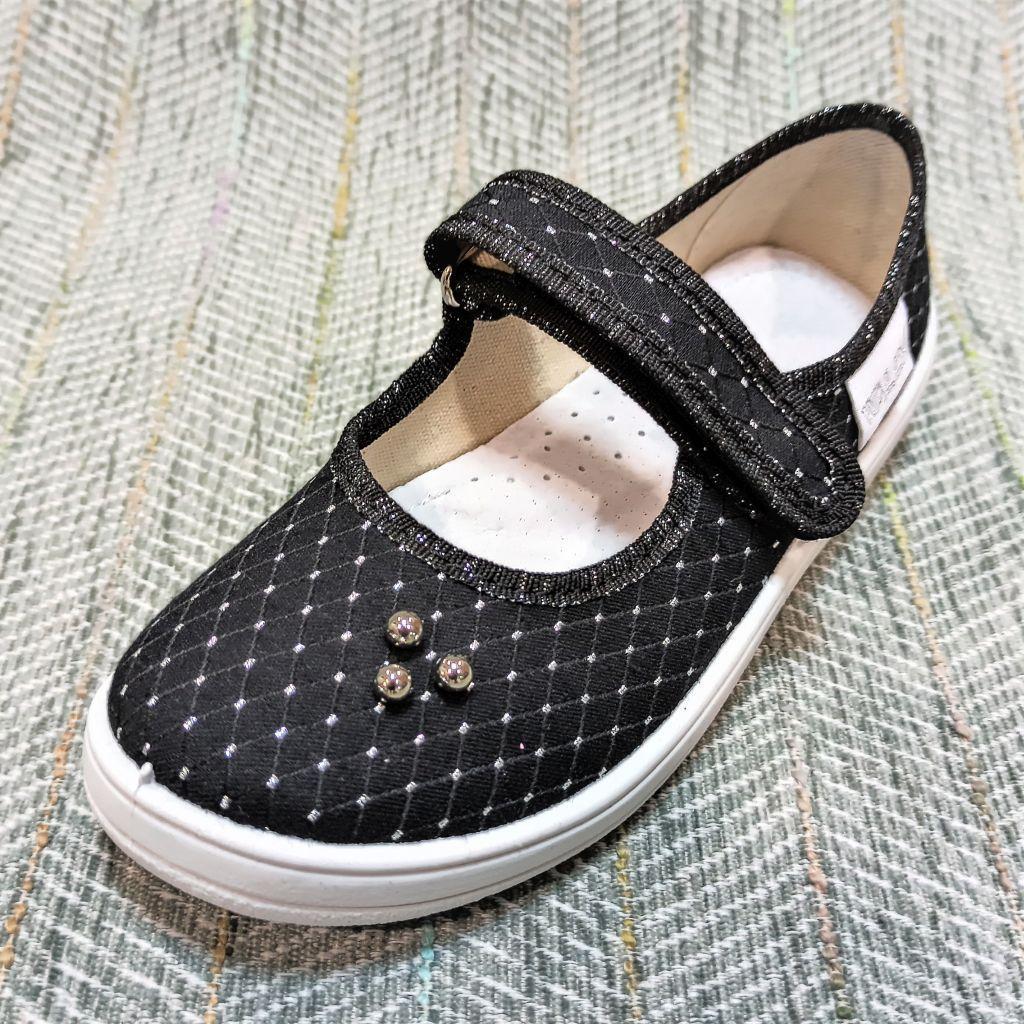 Текстильные туфли девочке, Waldi размер 34 35