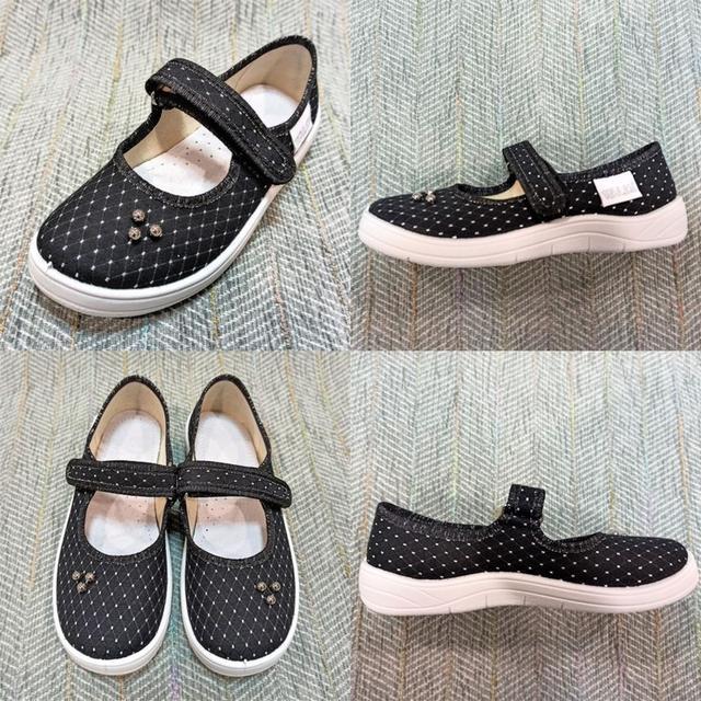 Текстильные туфли девочке, Waldi фото