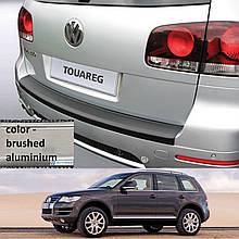 Volkswagen Touareg 2002-2010 пластиковая накладка заднего бампера