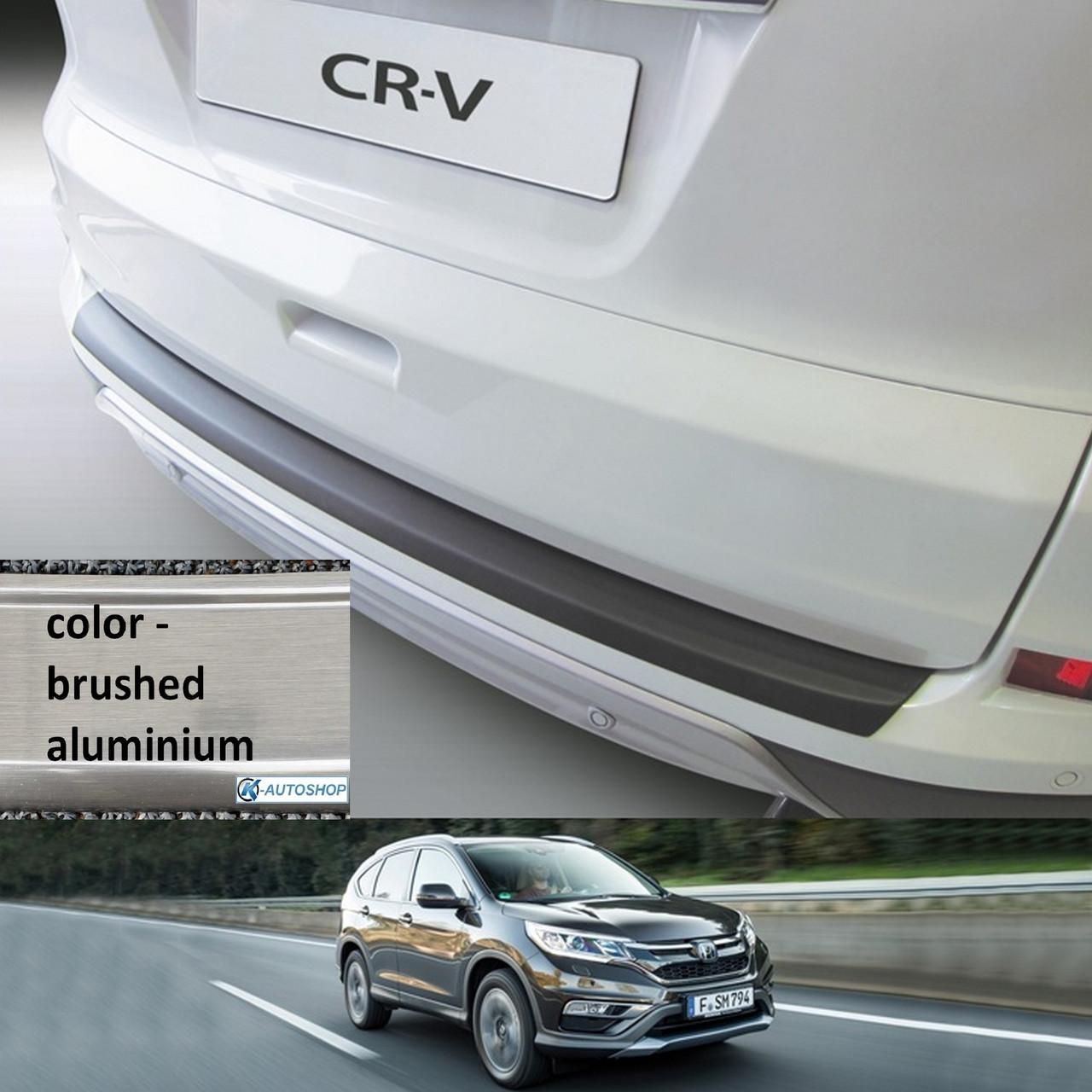Пластикова захисна накладка на задній бампер для Honda CR-V Mk4 LIFT 2015-2018