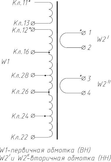 Схема подключения трансформатора сварочного ТВК-75