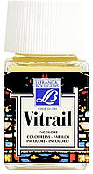 Витражная краска Vitrail #010 Colourless (Прозрачный) на сольвентной основе, 50 мл Lefranc & Bourgeois