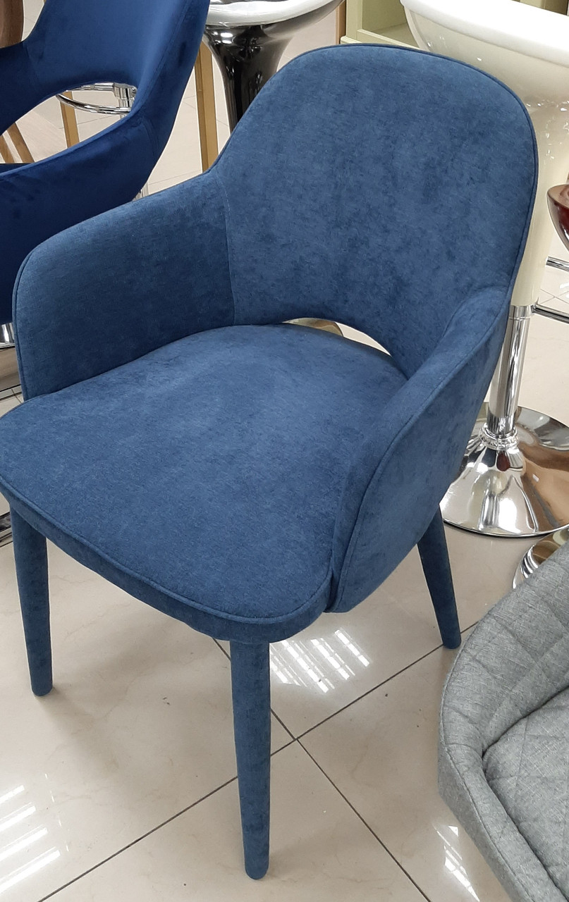 Кресло Roli (Роли) MC - 16-2 Евродом, обивка жаккард Dark Blue