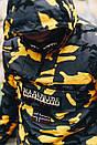 Мужская утепленная куртка-анорак NAPAPIJRI с принтом, до -8(три расцветки), фото 8