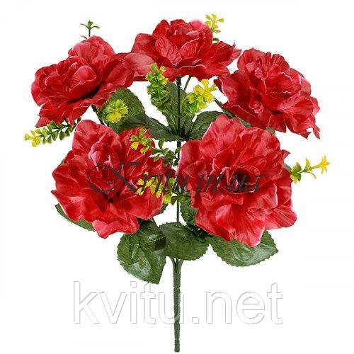 Букет розы атлас Конфетти, 32см