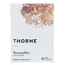 """Формула восстановления Thorne Research """"RecoveryPro"""" со вкусом шоколада (12 пакетиков по 32 г)"""
