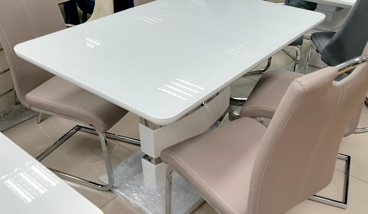 Стол обеденный белый в стиле модерн Montana (Монтана) DT-115 Евродом