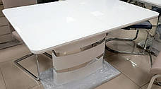 Стол обеденный белый в стиле модерн Montana (Монтана) DT-115 Евродом, фото 3