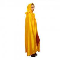 Карнавальный плащ Миледи (желтый), фото 1