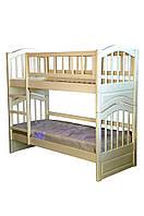 Детская двухъярусная кровать из натурального дерева Джулия трансформер, Орион