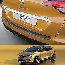 Пластикова захисна накладка на задній бампер для Renault Scenic IV 2016+