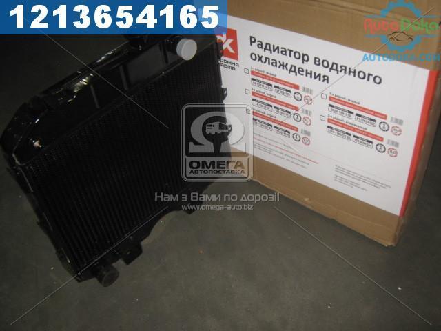 Радиатор водяного охлаждения УАЗ (3-х рядн) медный (Дорожная Карта)  3741-1301010-01С