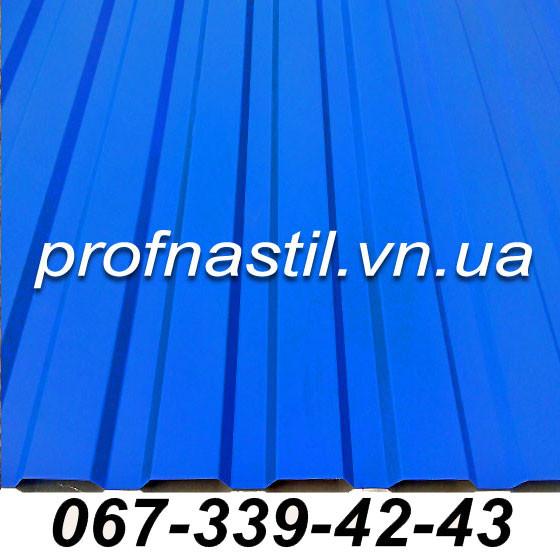 Профнастил голубой ПС-12 RAL 5010  Винница
