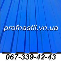 Профнастил голубой ПС-12 RAL 5010  Винница, фото 1