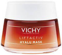 Антивозрастной ночной крем (экспресс-маска) Виши Лифактив Vichy Liftactiv Hyalu Mask