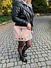 Женская кожаная сумка NARA Diva's Bag цвет бежевый, фото 6