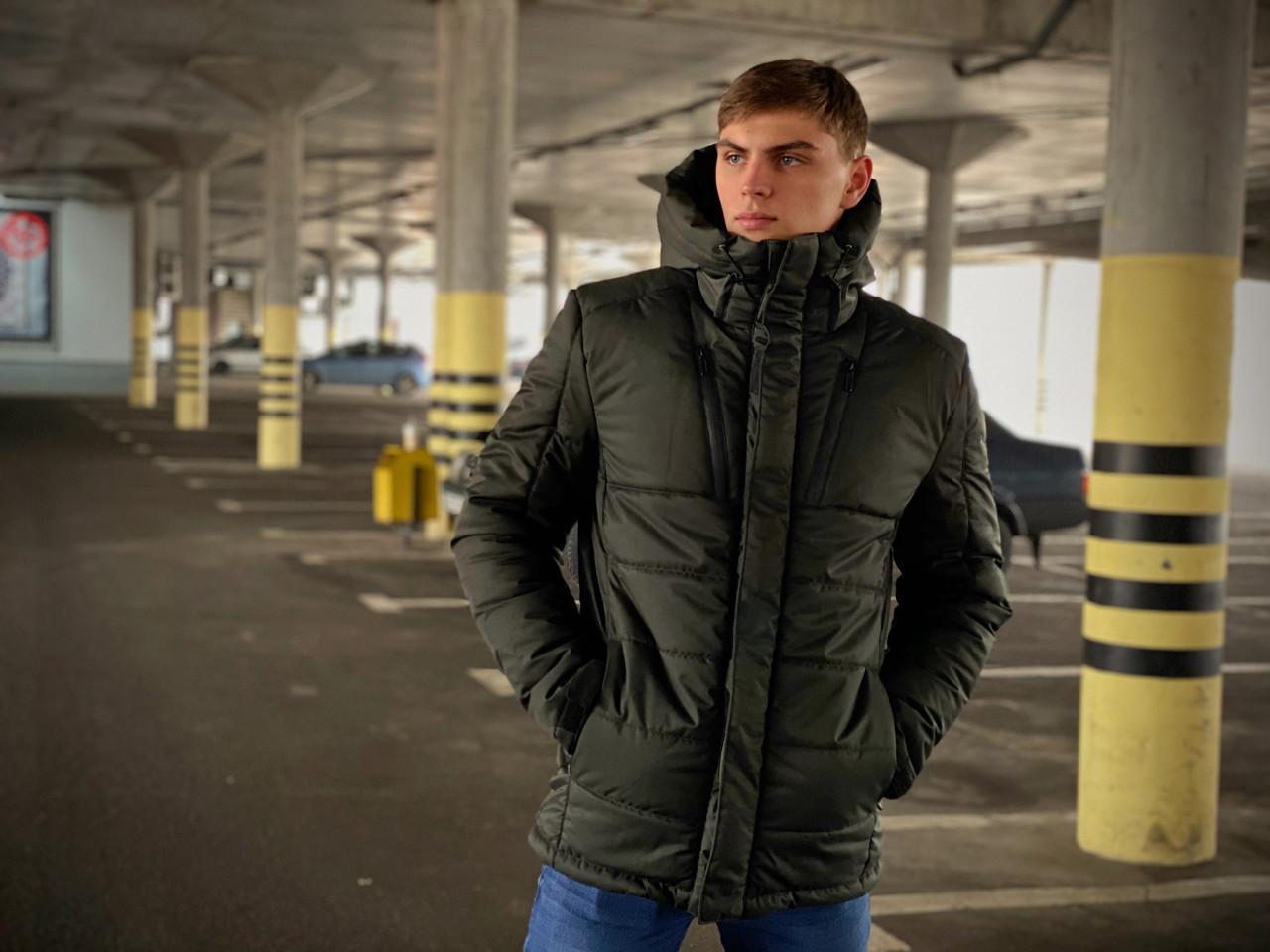 Куртка мужская зимняя хаки Everest Intruder