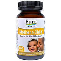 Pure Essence, Mother & Child, Формула Master PostNatal, 120 таблеток, официальный сайт