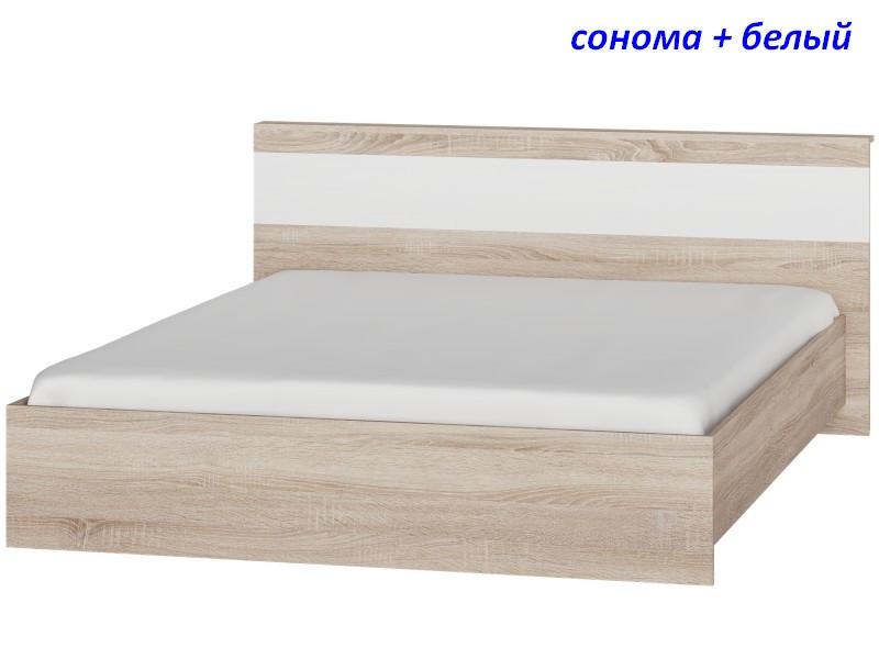 Кровать двуспальная Соната-1600