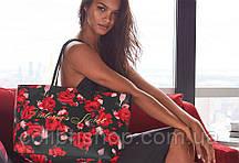 Стильная  сумка в цветочный принт Tote от Victoria's Secret