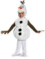 Карнавальный костюм снеговика Олафа Disney Frozen Olaf Deluxe Costume Холодное сердце