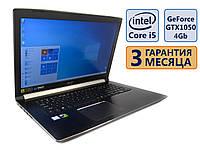 Ноутбук Acer Aspire A717-72G-53P7 17.3 FHD IPS/ Core i5-8300H (4x max4.0GHz)/ GeForce 1050, 4Gb/ 8GB/ SSD120+1Tb/ АКБ 48wh./ Сост. 9.5 из 10 БУ