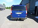 Задние уголки (2 шт, нерж) Mercedes Vito W639, фото 2