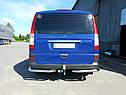 Задние уголки (2 шт, нерж) Mercedes Vito W639