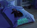 """Набор детского светящегося постельного белья TAC Frozen 2 Double """"Холодное сердце 2 часть"""" двустороннее, фото 4"""