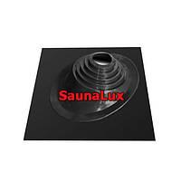 Проход кровли для дымохода SaunaLux ЧУ450 угловой 300-450