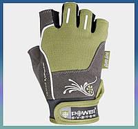 Перчатки женские для фитнеса и занятий в спортзале  Woman's Power PS-2570 XS Green