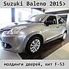 Молдинги на двери Suzuki Baleno 2015>