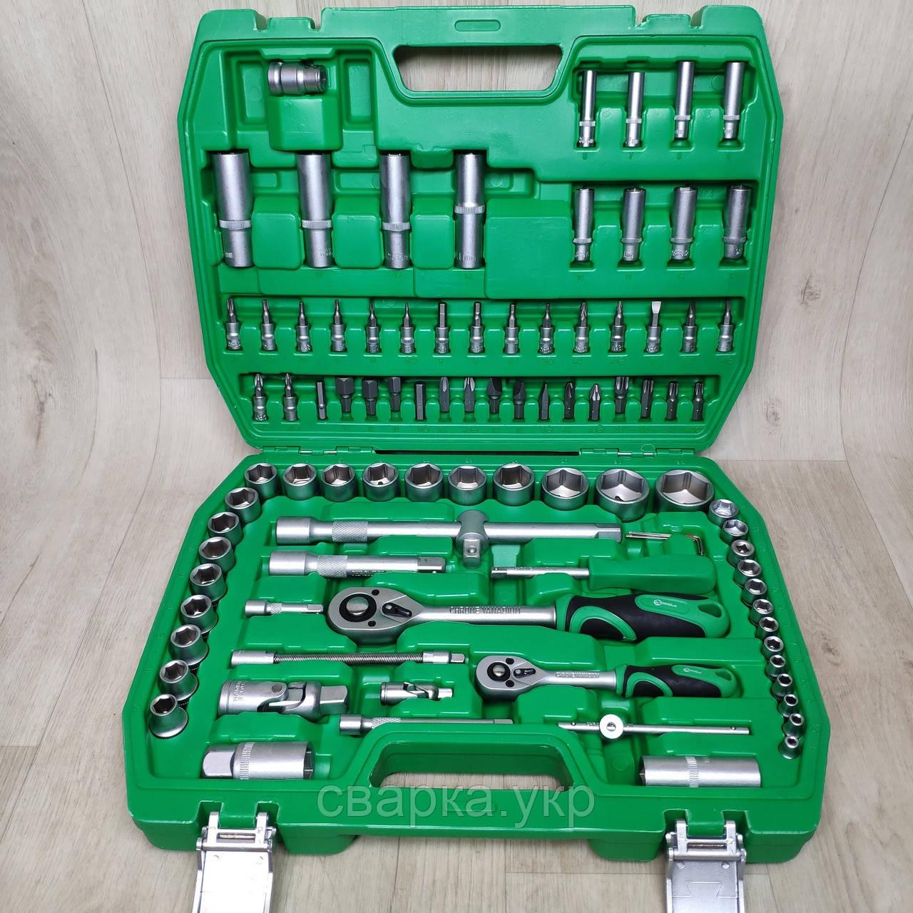 Набір ключів, головок INTERTOOL 94 одиниці