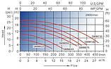 Самовсасывающий насос для бассейна AquaViva LX SWIM075T, 16 м³/ч, 380В, фото 5