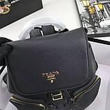 Рюкзак Прада натуральна шкіра, фото 3