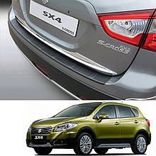 Пластикова накладка заднього бампера для Suzuki SX4 S-Cross 2013+
