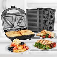 Multi Grill 3 в 1 бутербродница / вафельница / сендвичница / гриль.