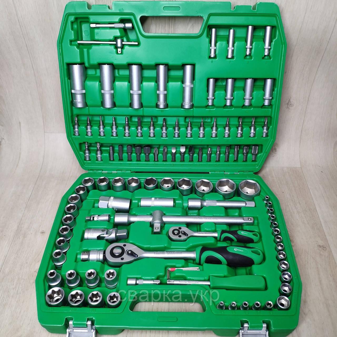 Набор ключей головок  INTERTOOL 108 единиц инструментов