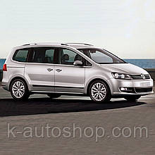 Молдинги на двери для Volkswagen Sharan 2010-2015, lift. 2015+