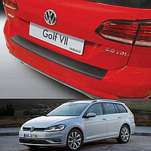 Пластиковая накладка заднего бампера для Volkswagen Golf 7.5 Variant 2017-2020