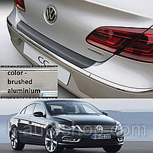 Пластиковая накладка заднего бампера для Volkswagen CC 2012-2017