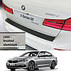 Пластиковая защитная накладка на задний бампер для BMW 5-series G30 2017+