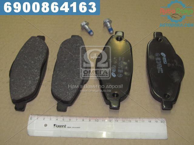 Колодки тормозные ПЕЖО 308 1.4-2.0 07-, 3008 1.6HDI 09- передние (производство  REMSA) 5008, 1323.00